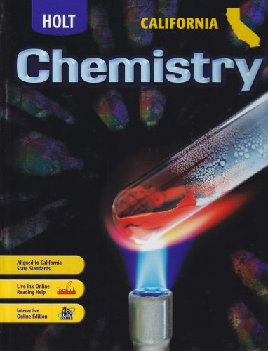 9780030922046: Modern Chemistry California: Student Edition 2007