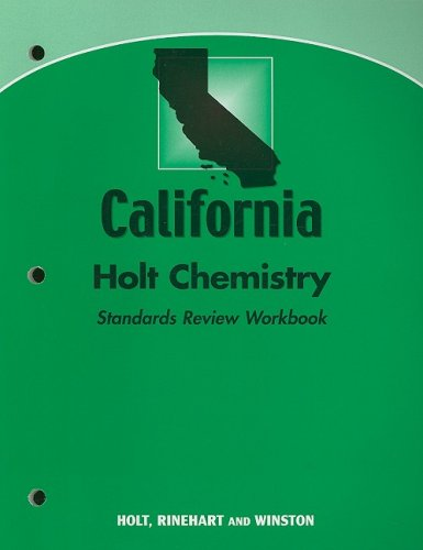 9780030922060: Modern Chemistry California: Standards Review Workbook