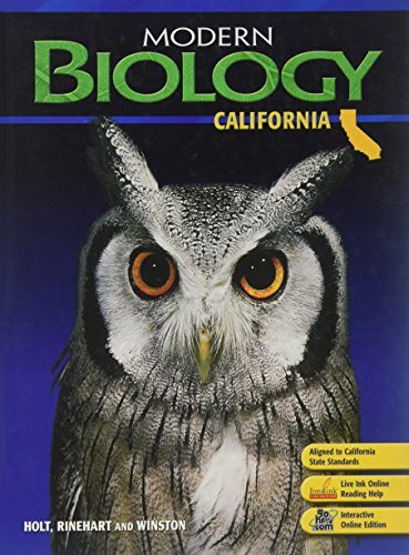 9780030922145: Modern Biology California