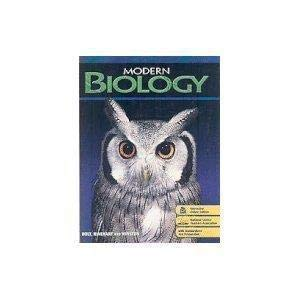 9780030922152: Modern Biology California Teacher Edition