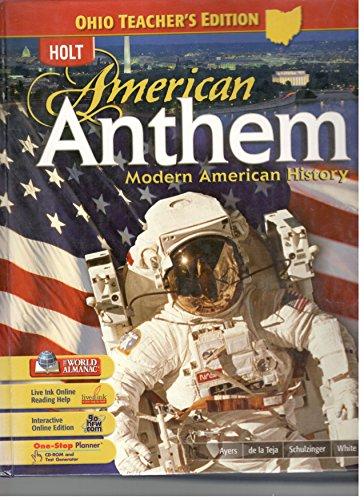 9780030922640: American Anthem Modern American History Ohio Teachers Edition
