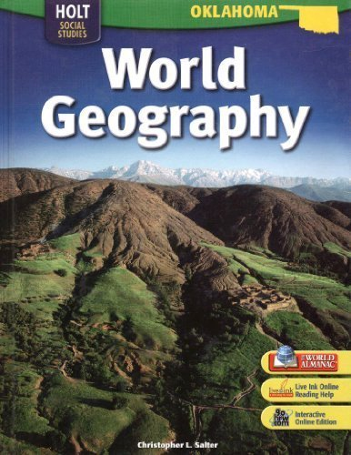 9780030922893: World Geography Oklahoma Edition