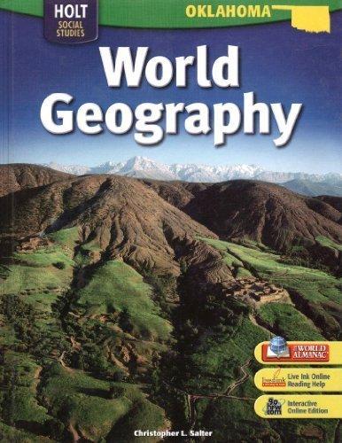 World Geography Oklahoma Edition: HOLT, RINEHART AND WINSTON
