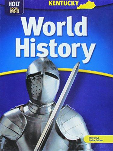 9780030923005: Holt World History Kentucky: Student Edition Grades 6-8 2006