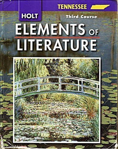 9780030923081: Holt Elements of Literature, Grade 9, 3rd Course