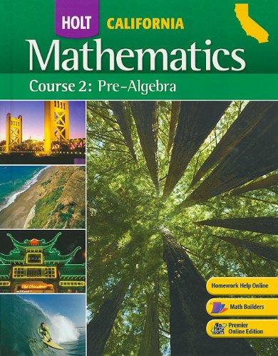 9780030923166: Holt Mathematics: Course 2: Pre-algebra