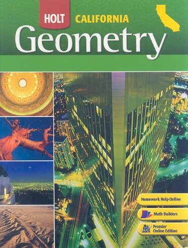 9780030923456: California Holt Geometry