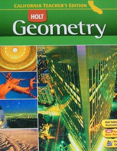 9780030923463: Te Holt CA Geometry 2008