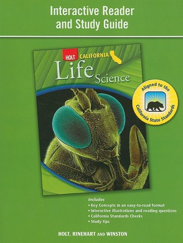 9780030924774: Holt Science & Technology California: Interactive Reader Study Guide Grade 6 Life Science