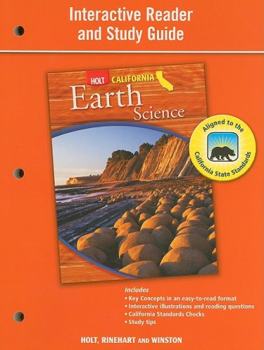 9780030924781: Holt Science & Technology California: Interactive Reader Study Guide Grade 7 Earth Science