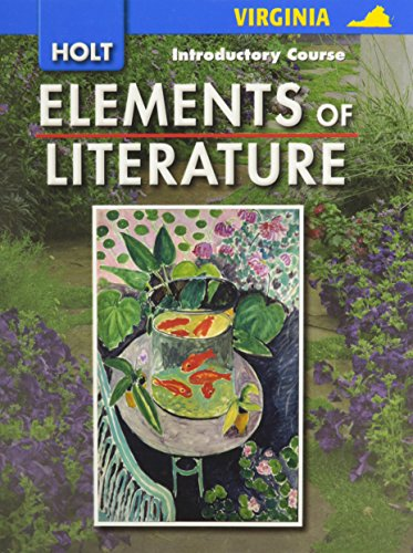 9780030925764: Elements of Literature: Introductory Course
