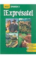 9780030926266: ¡Exprésate!: Student Edition plus Reader Package Level 3 2008