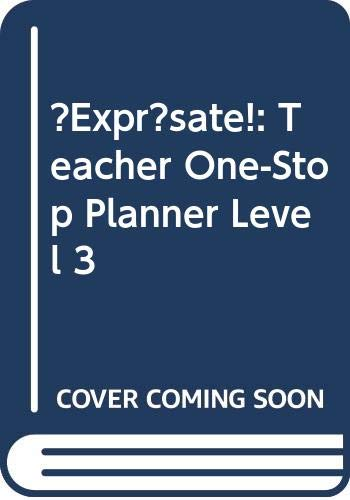 9780030927232: ?Expr?sate!: Teacher One-Stop Planner Level 3