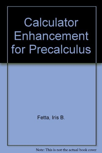 9780030927270: Explorations in algebra, precalculus, statistics: A manual for the TI-81 graphing calculator