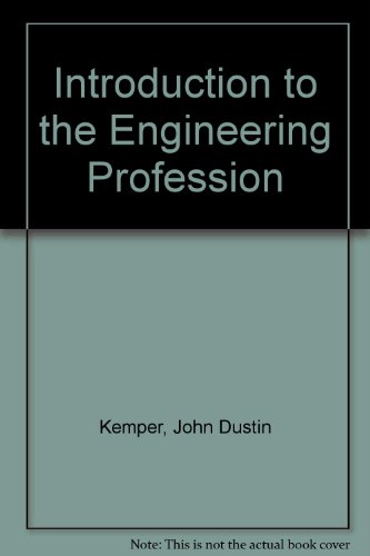 9780030928581: Introduction to the Engineering Profession