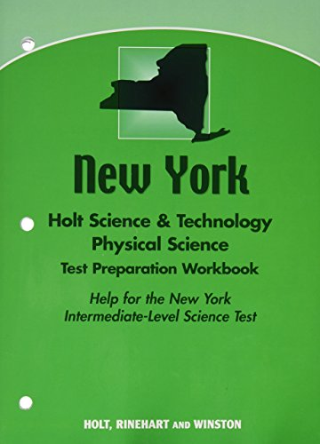 9780030928703: Test Preparation Workbook Physical Science, Grade 8: Holt Science & Technology New York