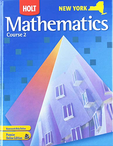 9780030929144: Holt Mathematics, Course 2