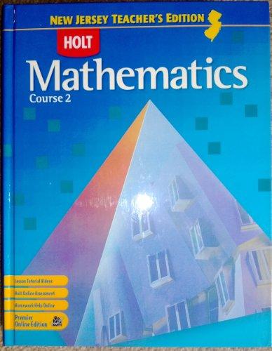 9780030929212: Holt Mathematics Course 2 New Jersey Teacher's Edition (Holt Mathematics)