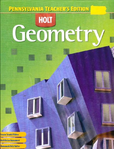 Geometry Penn. TE: Holt