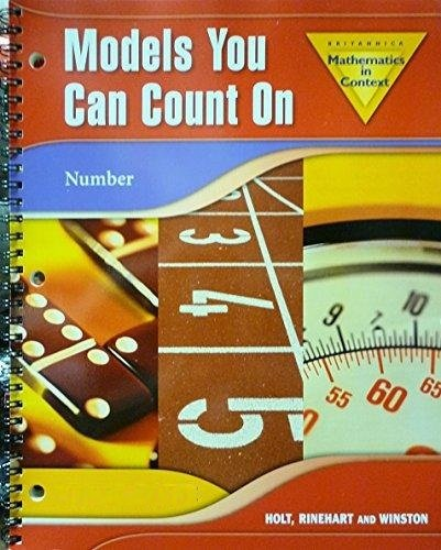9780030930454: Holt Math in Context: Spanish Models You Can Count on MIC Grade 6
