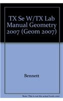 9780030930683: Holt Geometry Texas: Student Edition Lab Manual Workbook Kit Geometry 2007