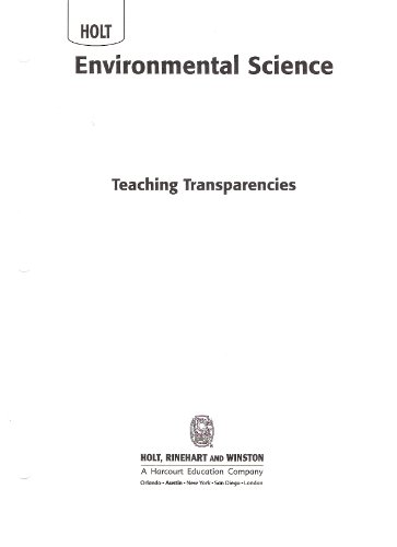 9780030931000: Teaching Transparencies (Holt Environmental Science)