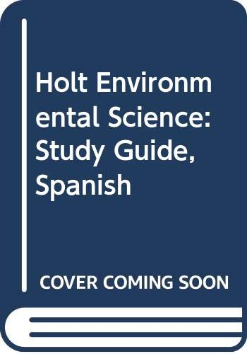 9780030931130: Holt Environmental Science: Study Guide, Spanish