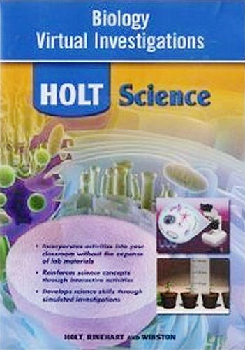 9780030932441: Holt McDougal Biology: Virtual Investigations CD-ROM