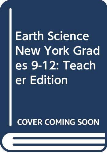 9780030932625: Holt Earth Science New York: Teachers Edition Grades 9-12 2008