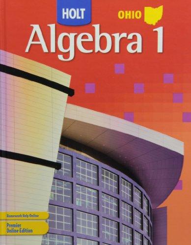 9780030932946: Holt Algebra 1 Ohio: Student Edition Algebra 1 2007