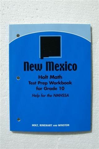 9780030933141: Holt Geometry New Mexico: New Mexico Test Prep Workbook Grade 10 Geometry