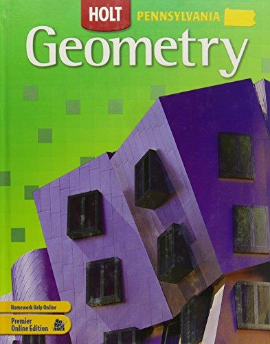 9780030933172: Holt Geometry Pennsylvania: Student Edition Grades 9-12 2007