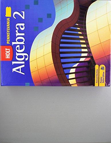 9780030933387: Holt Algebra 2 Pennsylvania: Student Edition Gratis Class Set Algebra 2 2007