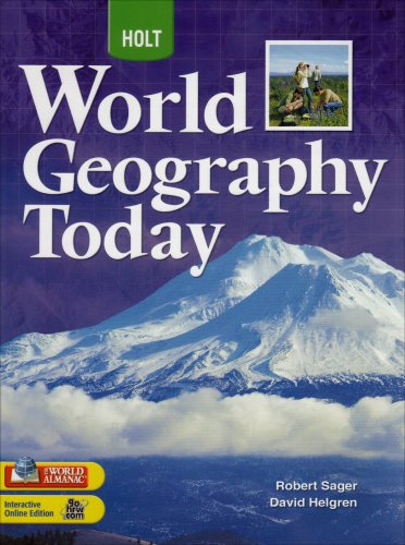 9780030934193: World Geography Today: Student Edition Grades 9-12 2008