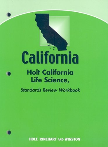9780030934421: Holt Science & Technology California: Standards Review Workbook Grade 6 Life Science