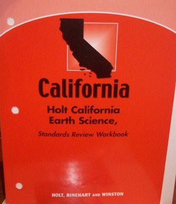 9780030934438: Holt Science & Technology California: Standards Review Workbook Grade 7 Earth Science