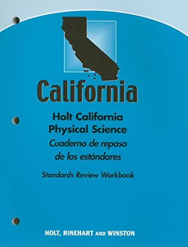 Holt Science & Technology California: Cuaderno De: HOLT, RINEHART AND