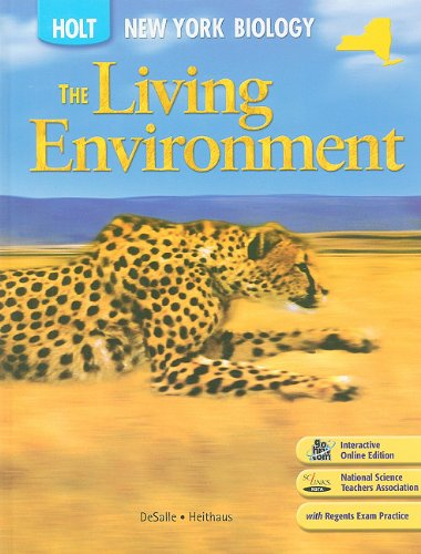 9780030934599: New York Holt Biology: The Living Environment