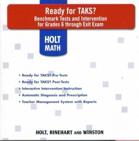 9780030935725: Ready for TAKS? Grade 6-7, 8-9, 10-Exit Exam CD-ROM SET