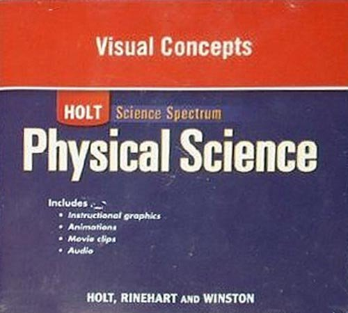 9780030935756: Holt Science Spectrum: Physical Science with Earth and Space Science: Visual Concepts CD-ROM