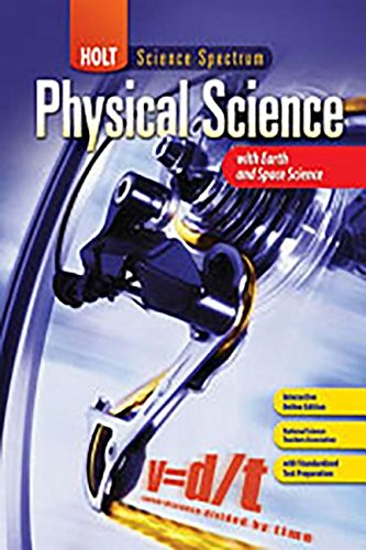 9780030935824: Ch 3 St Matter Sci Spec: Phy 2008 E/S