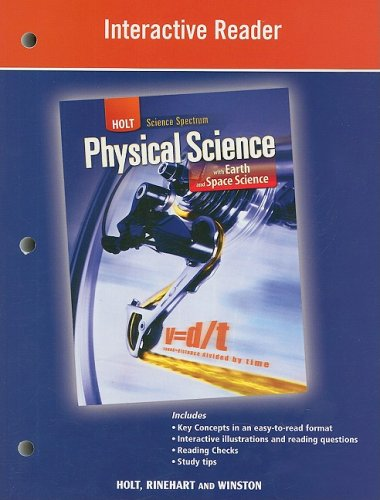 9780030936128: Holt Science Spectrum: Physical Science with Earth and Space Science: Interactive Reader