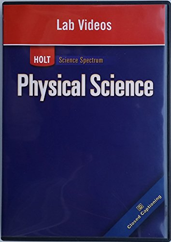 9780030936166: Holt Science Spectrum: Physical Science with Earth and Space Science: Lab Videos on DVD