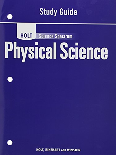 9780030936265: Holt Science Spectrum: Physical Science with