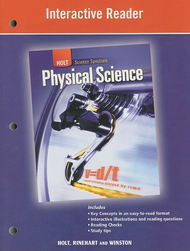 9780030936388: Holt Science Spectrum: Physical Science: Interactive Reader