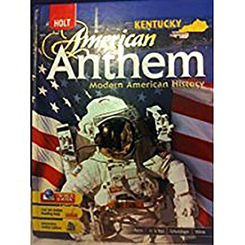 9780030936579: American Anthem: Student Edition Modern American History 2007