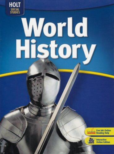 9780030936647: World History: Student Edition 2008
