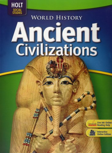 9780030936654: World History: Ancient Civilizations: Student Edition 2008