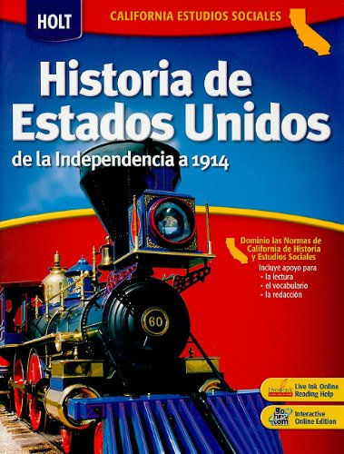 9780030936661: Holt United States History: Spanish Student Edition Grades 6-8 Beginnings to 1914 2006
