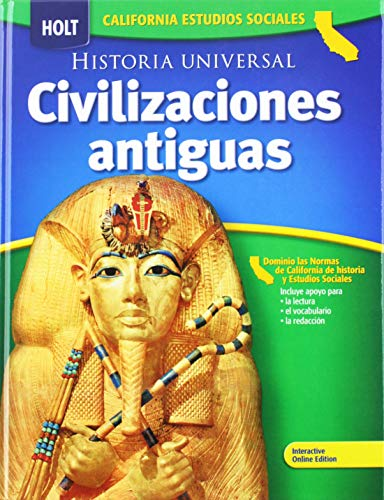 9780030936678: Holt World History California: Spanish Student Edition Grades 6-8 Ancient Civilizations 2006